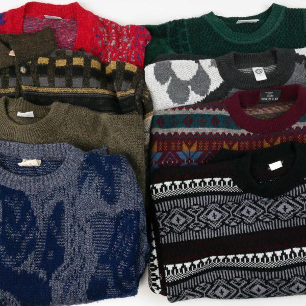 20x Vintage Pullover 80er