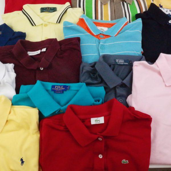 30x Vintage Poloshirts Brand