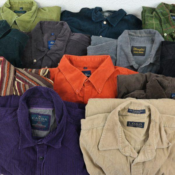 20x Vintage Hemden Cord