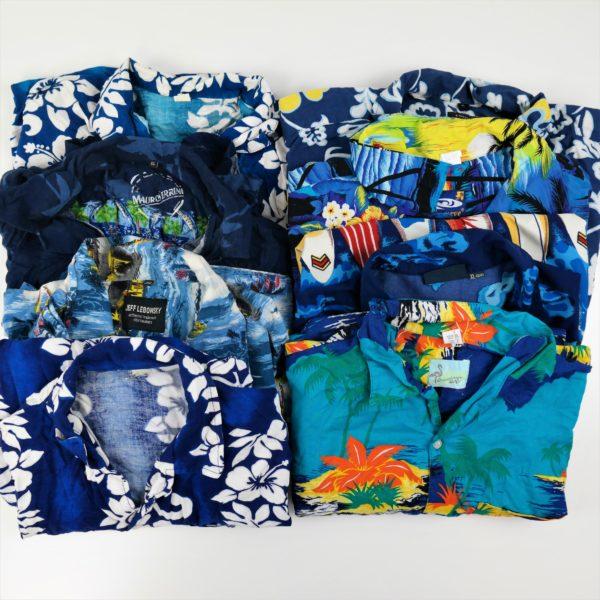 30x Vintage Hemden Hawaii